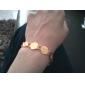 여성 체인 & 링크 팔찌 팔찌 패션 도금 플래티넘 도금 골드 합금 보석류 용 특별한 때 생일 일상