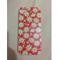 Chrysanthemum Pattern Transparent Frame PC Hard Case For iPhone 7 7 Plus 6s 6 Plus SE 5s 5c 5 4s 4