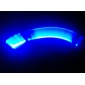 Fire Flys Tyre Wheel Valve Cap Blue LED Flash Light (3xAG10)
