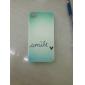 Padrão Sorriso Carta Hard Case para iPhone 4/4S
