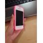 прочный корпус цвет бампер для iPhone 4 / 4s (ассорти цветов)