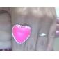 корейской моде стиль персик сердца больших звезд любят открытое кольцо (случайный цвет)