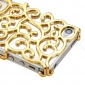 Etui Rigide Motif Fleur pour iPhone 4/4S - Couleurs Assorties