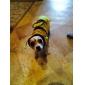 Коты Собаки Костюмы Толстовки Одежда для собак Лето Весна/осень Животный принт Милые Косплей Желтый