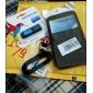 Litchi modèle élégant appelant cas Fenêtre d'affichage en cuir pour Samsung Note 2 N7100