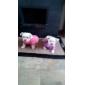 Cães Moletom Rosa Roupas para Cães Inverno Primavera/Outono Corações Casual Mantenha Quente