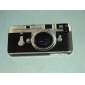 Retro Camera Pattern Mirror Hard Case for iPhone 4/4S