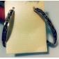 мода леопардовые золотой обруч серьги (1 пара)