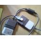 controlador ps2 dual para usb conversor para pc (preto)