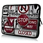 "Inscription Modèle 7 ""/ 10"" / 13 ""Case Laptop Sleeve pour MacBook Air Pro / Ipad Mini / Galaxy Nexus Tab2/Sony/Google 18162"