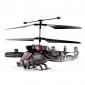 4-kanálový IR bojový vrtulník vrtulník s gyroskopem