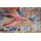 Pink Nail Scissors for False Nail Tips Acrylic Nail Art