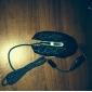 USB Проводная игровая мышь 2400 DPI 6D с красочными света водить светового