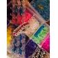 радуга красочный стиль станок для волос DIY материал с блокировки связи (100 шт)
