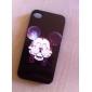Cartoon Design Aluminum Hard Case for iPhone 4/4S