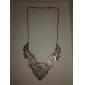 Женский Ожерелья с подвесками Сплав В форме цветка Винтаж Викторианский стиль резной Pоскошные ювелирные изделия Бижутерия Для вечеринок