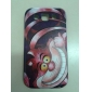 Шаблон Розовый кот Футляр для Samsung Galaxy Win I8552