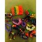 инструменты или амулеты для радужной красочные ткацкий станок цветных з-клипов пополнить полосы браслет разъем (240 шт)