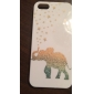 Golden Stars & Elephant Case for iPhone 5/5S