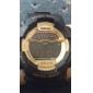 SKMEI Мужской Спортивные часы Наручные часы электронные часы LCD Календарь Секундомер Защита от влаги тревога Цифровой Pезина Группа