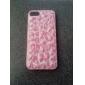 Pink Pattern Leopard Hard Case para iPhone 5/5S
