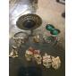 Women's  Charming Cat Metal Stud Earrings