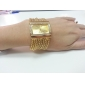 Women's Watch Bracelet Gold Diamond Case Alloy Band