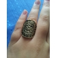 Z&X®  Vintage Style Engraving Earl Ring