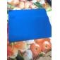 얇은 실리콘 미끄럼 방지 마우스 패드 (8x7 인치)