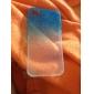 Bubbles Gradient Color Transparent Back Case for iPhone 4/4S(Assorted Color)