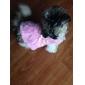 Собаки Плащи Красный / Розовый Одежда для собак Весна/осень Цветочные / ботанический