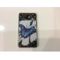Pattern borboleta Hard Case com strass para Samsung Galaxy S2 I9100
