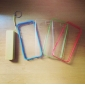 Spécial design extra-plat butoir pour l'iPhone 5/5S Transparent (couleurs assorties)