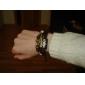 lureme poissons coeur charmante cuir tressé bracelet des hommes