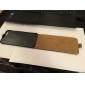 litchi Fashion® véritable cas flip en cuir pour iPhone 6 plus 5.5 avec boîte-cadeau, (couleurs assorties)