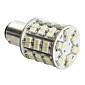 1157 4W 60x3528 SMD LED-pære med hvitt lys til bremselys til bil (DC 12V)