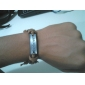 believe listing leather bracelet