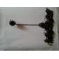 Vintage Gothic Hollow-out Flower Pattern Black Lace Bracelet