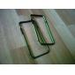 dsb® prime hybride pc noir ornent coloré TPU protection cadre de pare-chocs pour iPhone 6 (couleurs assorties)