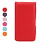 Flip PU Leather Full Body Case for iPhone 4 and 4S (Assorted Colors)