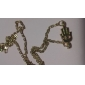 Женский Ожерелья с подвесками Сплав Мода Простой стиль Золотой Бижутерия Для вечеринок Halloween Повседневные 1шт