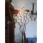 1W G4 Lâmpadas Espiga T 24 SMD 3528 80 lm Branco Quente AC 12 V