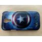 Cas de couverture étoiles Motif arrière dur pour Samsung Galaxy S4 Mini I9190