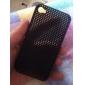 Carcasa Ultra Delgada de Caucho en Malla para el iPhone 4 y 4S - Negra