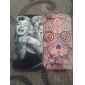Mark Marilyn Monroe Pattern Hard Case for iPhone4/4S