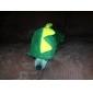 Cães Camisola com Capuz Vermelho / Verde Roupas para Cães Primavera/Outono Animal Fantasias
