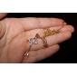 Ключ Pattern Металл с искусственной бриллиантовое колье (1шт)