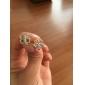 Lucky Four Leaf Clover sølv øredobber