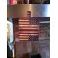 Звезды и полосы Pattern Полный Дело Корпус с Слот для карты и встроенный матовый PC обложка для iPhone 4/4S