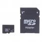Clase 8gb tarjeta de memoria tf 4 microSDHC y adaptador microSDHC a sdhc
